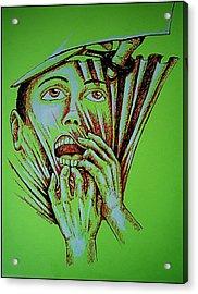 Repression Acrylic Print by Paulo Zerbato