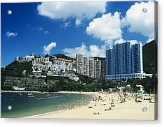 Repulse Bay Acrylic Print by Gloria and Richard Maschmeyer - Printscapes