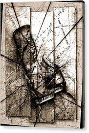 Requiem Acrylic Print by Gary Bodnar