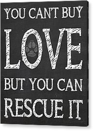 Rescue It Acrylic Print