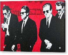 Reservoir Dogs 2013 Acrylic Print by Luis Ludzska
