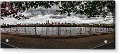 Reservoir Panorama Acrylic Print