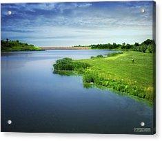 Reservoir Acrylic Print