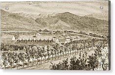 Residence Of Brigham Young Salt Lake Acrylic Print