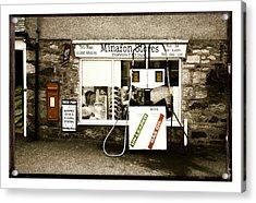 Resist Change - Village Shop Part1 Acrylic Print
