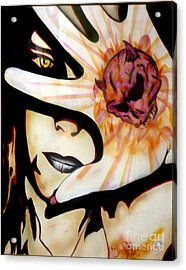 Acrylic Print featuring the painting Resistance by Tbone Oliver