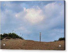 Respect The Beach Acrylic Print by JAMART Photography