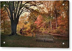Acrylic Print featuring the photograph Respite River by Jessica Jenney