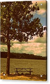 Rest Acrylic Print by Diane Reed