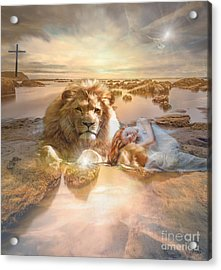 Divine Rest Acrylic Print