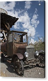 Rest Stop Acrylic Print by Annette Berglund
