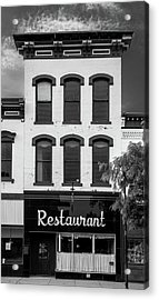 Restaurant Acrylic Print by Al White