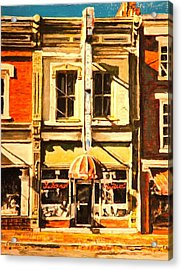 Restaurant II Acrylic Print by Thomas Akers