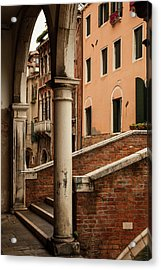 Restaurato Acrylic Print by Art Ferrier