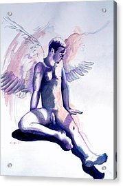 Resting Angel Acrylic Print
