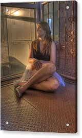 Resting Dancer Acrylic Print by JoeMyDodd JMD