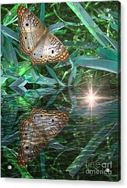 Resting On River's Edge Acrylic Print