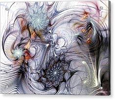 Restive Acrylic Print by Casey Kotas