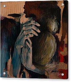 Restlessness Acrylic Print by Dorina  Costras