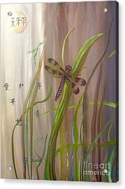 Restoration Of The Balance In Nature Cropped Acrylic Print