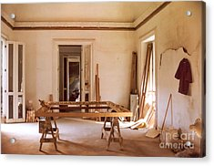 Acrylic Print featuring the photograph The Restoration Studio 2 by Susan Parish