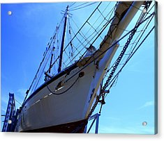 Acrylic Print featuring the photograph Restoring Harvey by Lois Lepisto
