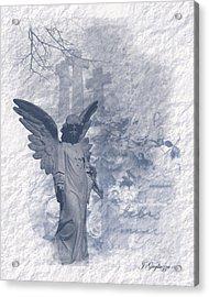 Resurrection Angel Acrylic Print by Jean Gugliuzza