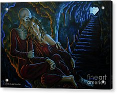 Resurrection Life And Death Acrylic Print