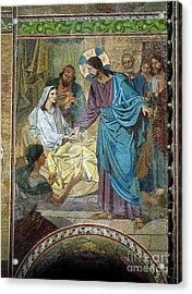 Resurrection Of Jairus's Daughter Acrylic Print