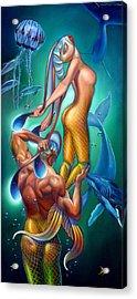Resurrection Acrylic Print by Patrick Anthony Pierson