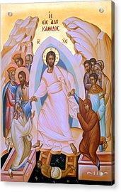 Resurrection Story Acrylic Print