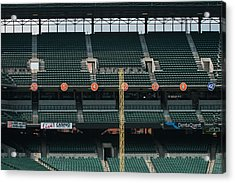 Retired Numbers Of The Orioles Greatest Ever Acrylic Print