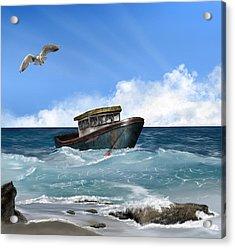 Retiring From The Fleet Acrylic Print