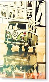 Retro 60s Toy Van Acrylic Print by Jorgo Photography - Wall Art Gallery