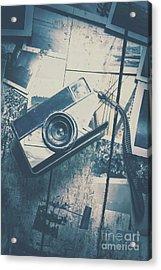 Retro Camera And Instant Photos Acrylic Print by Jorgo Photography - Wall Art Gallery