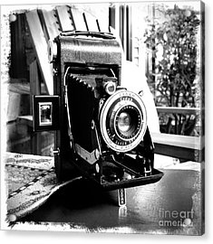 Acrylic Print featuring the photograph Retro Camera by Daniel Dempster