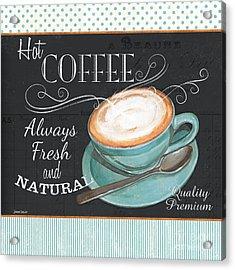 Retro Coffee 1 Acrylic Print