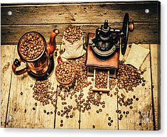 Retro Coffee Bean Mill Acrylic Print by Jorgo Photography - Wall Art Gallery