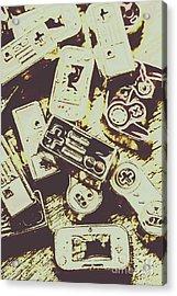 Retro Computer Games Acrylic Print by Jorgo Photography - Wall Art Gallery