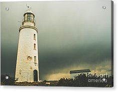 Retro Filtered Lighthouse Acrylic Print by Jorgo Photography - Wall Art Gallery
