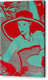 Retro Glam Acrylic Print