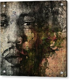 Retro Hendrix @ No6 Acrylic Print by Paul Lovering