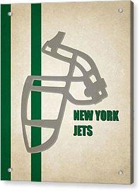 Retro Jets Art Acrylic Print