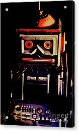 Retro Mechanical Robotics Acrylic Print