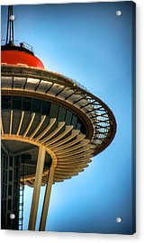 Retro Needle Acrylic Print by Spencer McDonald