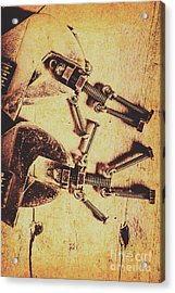 Retro Robot Revival Acrylic Print