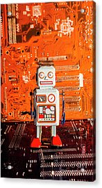 Retro Robotic Nostalgia Acrylic Print by Jorgo Photography - Wall Art Gallery