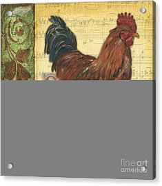 Retro Rooster 2 Acrylic Print