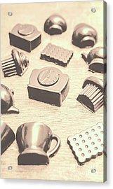 Retro Tea Party Acrylic Print by Jorgo Photography - Wall Art Gallery