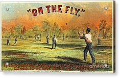 Retro Tobacco Label 1867 Acrylic Print by Padre Art